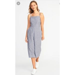Old navy stripped jumpsuit